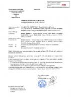 Délibération 3-2021 Remplacement porte Ecole