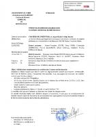Délibération 6-2021 Remplacement mobilier de classes Berthouville